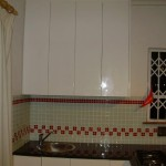 Tiling job in kitchenette